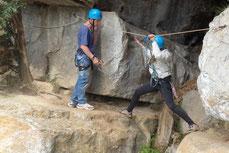 Le parcours aventure ou comment se déplacer en sécurité au dessus du vide