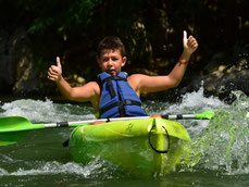 Le canoë kayak ou les plaisirs de l'eau vive