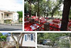 En camping dans un bungalow pour un séjour confortable et proche de la nature