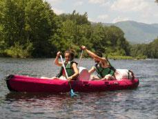 le canoë kayak un de nos moyen d'approcher la nature