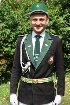 Felix Franke (Leutnant der Ehrengarde)