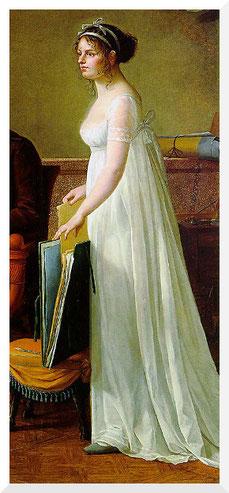 Gemälde von Marie-Françoise Constance Mayer-La Martinière - Selbstporträt (ca. 1801)