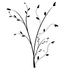 Ornament Strauch, Trauer, Leben nach dem Tod