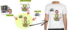 tee shirt humour le plus gros poisson