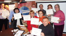 Toastmasters Nice Charter Certificates