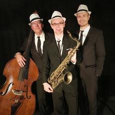 Swing for Fun, Swing Music, Swingmusik, für Dinner, Tanz und gute Laune. Jazzsängerin, Saxophone, Flöte, Klaviermusik, und Kontrabass