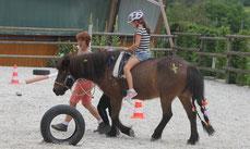 Kindergeburtstag auf Fiedlers Drachenhof mit Pferden
