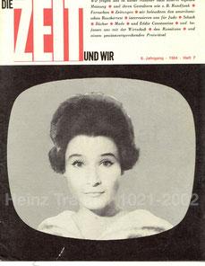 Die Zeit und wir. Magazin der Zentralsparkasse. Ausgabe 1964.