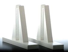weiße Holzfüße Standard Heizung