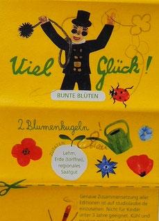 Viel Glück, Verpackung, Illustration Schornsteinfeger