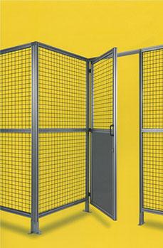 アルミ製安全柵