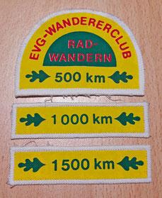 Radwander-Kilometer-Abzeichen