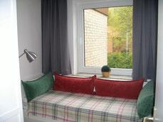 Kinderzimmer, das Bett kann als Doppelbett genutzt werden
