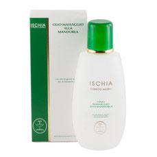 olio massaggio mandorla Ischia cosmetici naturali