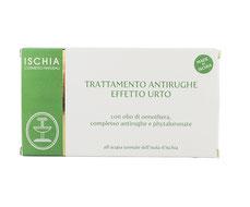 trattamento fiale antirughe azione urto ischia cosmetici naturali
