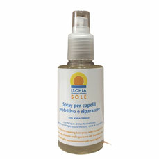 spray capelli protettivo riparatore ischia cosmetici naturali