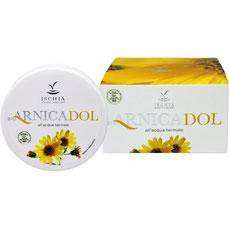 crema antidolorifica arnica bio e acqua termale di Ischia sorgente di bellezza