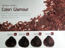 tinta capelli bio colori glamour, capelli color cioccolato,  capelli cioccolato, colore capelli 2021