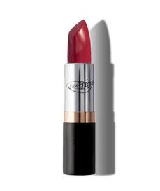 rossetto biologico color rosso cremisi 07 purobio