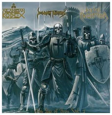 "2007 ""New Age Of Iron Vol. 1 - Teutonic Swedish Alliance""  (LP), New Iron Age Records, Limited Edition"