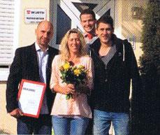 Das Team von H-G Haustechnik GmbH als neuer Partner von Würth.