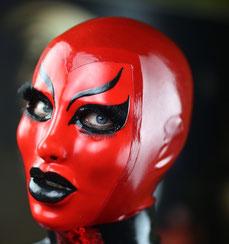 femalemask, latexhood, latexmaske, doll, rubberdoll, fetishmodel, latexfetish, heavyrubber,