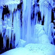 凍瀑 (全紙)