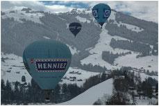 "Heissluftballons Montgolfières ""Hot air balloons"""