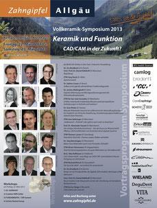 Zahngipfel 2013 Vollkeramik-Symposium Fortbildung