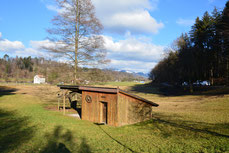 unsere Club-Hütte   HOLZWURM
