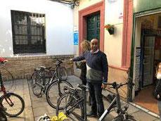 location de vélo, louer un vélo séville, Sevilla