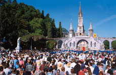 04/2016-Pélé des collégiens à Lourdes