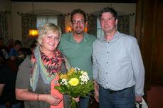 Angelika Buchmüller, Heinz Gandler und Gerhard Maier