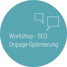 Workshops Inhouse Seminare SEO Suchmaschinenoptimierung Button