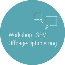 Workshops Inhouse Seminare SEM Suchmaschinenoptimierung Button