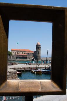 Bild: Collioure mit Wehrkirche