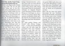 """Artikel (Interview) zum Thema """"Verlagsanschreiben"""""""