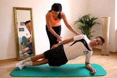 Sportphysiotherapie Seitstütz Saabrücken