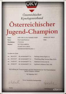 Österreichischer Jugend-Champion