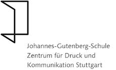 Schullogo und Förderverein der Johannes-Gutenberg-Schule Stuttgart
