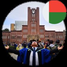 Study in Japan for Africa- Mr Ramahaimandimby Sandratra- Madagascar