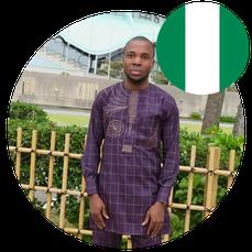 Study in Japan for Africa- Mr Amagu Amagu Clement- Nigeria