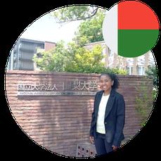 Study in Japan for Africa- Ms Rakotoarimanana Zy Harifidy- Madagascar