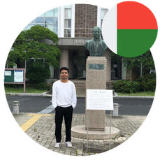 Study in Japan for Africa- Mr Ambinintsoa Urick- Madagascar