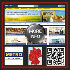 Metro- Inzwischen finden die Kunden in jeder größeren deutschen Stadt, an insgesamt 56 Standorten, einen Großhandelsmarkt von METRO Cash & Carry.