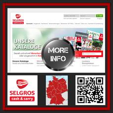 Selgros Cash and Carry-  ehemalig Fegro/ Selgros. Mit 44 Märkten in 15 Bundesländern vertreten. 25 000 Food und 28 000 Nonfoodprodukte.