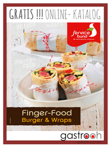 Servicebund Fingerfood Burger und Wraps