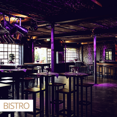 Impression of a private event at the Bistro at DIE HALLE Tor 2