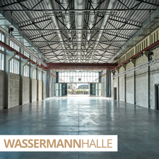 Impression of the empty WASSERMANNhalle