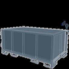 Wertstoff-Behälter, Gitterbox
